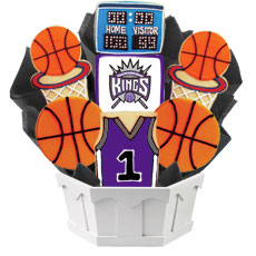 NBA1-SAC - Pro Basketball Bouquet - Sacramento