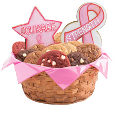 W384 - Hope, Faith, Love, Awareness Basket