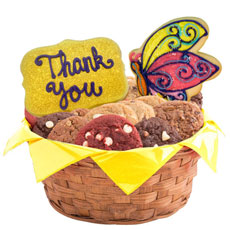 W508 - Appreciation Flowers Basket