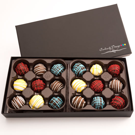 CBT18 - Assorted Chocolate Truffles - 18 Count