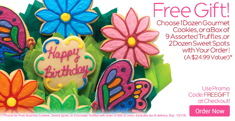 Free Gift with Any Order of $50 or More!