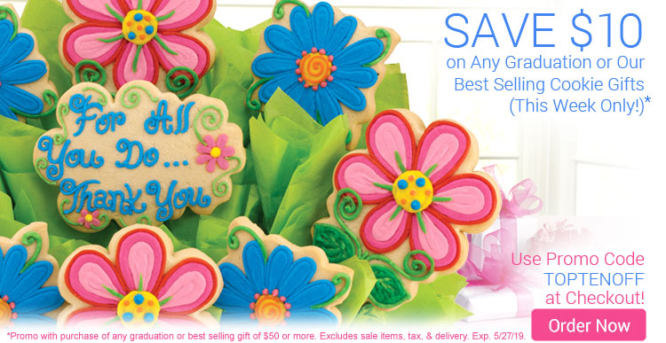 Save $10 on Graduation Gifts and Our Best Sellers!