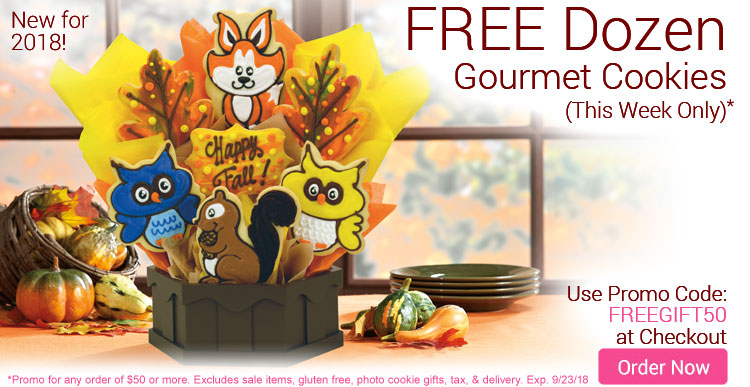 Free Dozen Gourmets this week only!