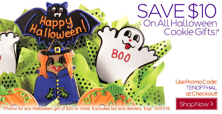 $10 Off Halloween Gifts This Week Only!