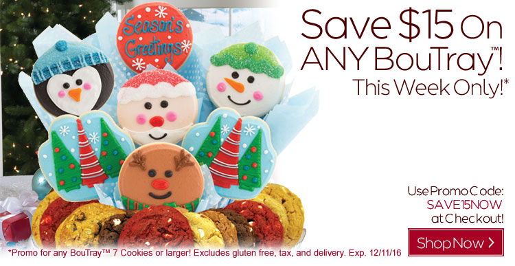 Save $15 On ANY BouTray!