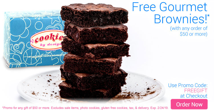 Free Gourmet Brownies!