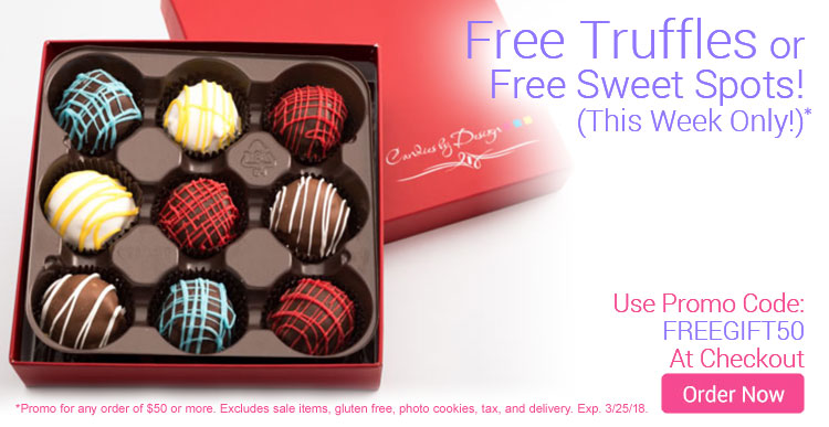 Free Chocolate Truffles or Sweet Spots!