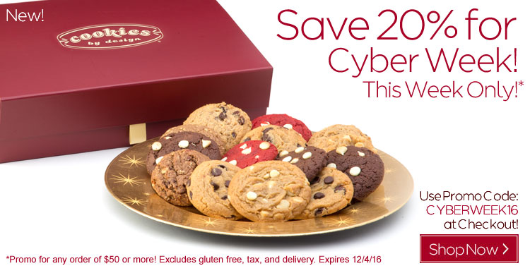 Save 20% for Cyber Week!