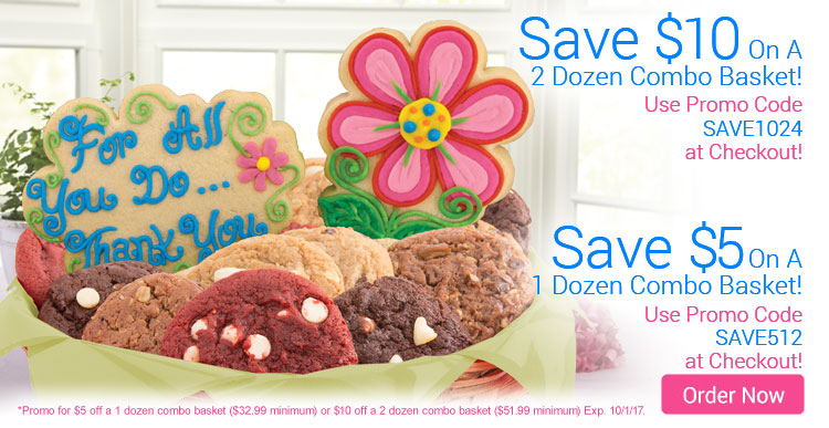 Save up to $10 on Any Combo Basket!