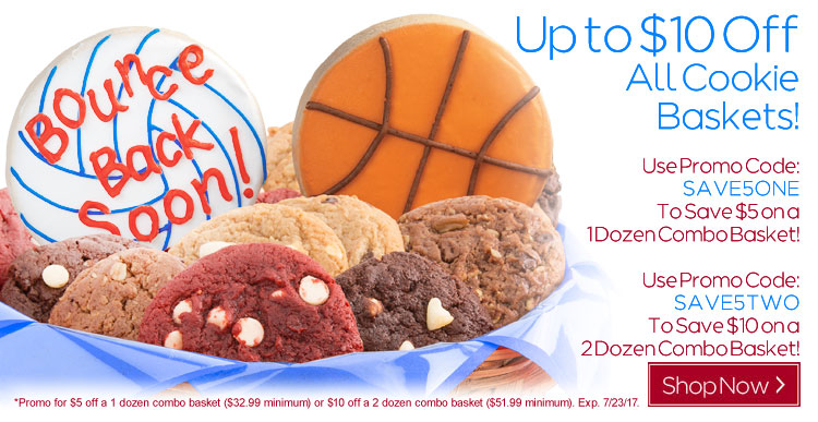 Save $1o On Any 2 Dozen Combo Basket!