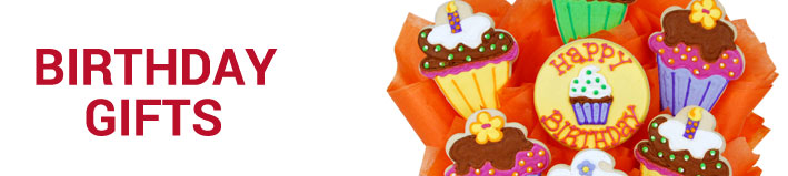 BIRTHDAY COOKIE GIFT BASKETS