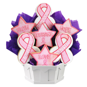 CANCER AWARENESS COOKIE GIFTS