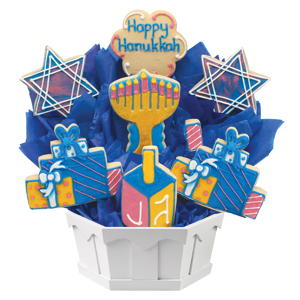 HANUKKAH COOKIE GIFT BASKETS