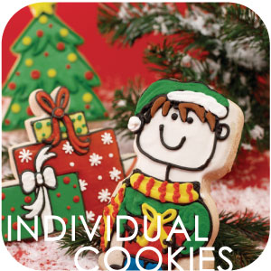 INDIVIDUAL DECORATED COOKIES