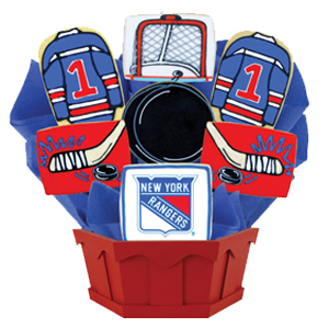 Hockey cookies nhl gifts cookies by design looking for unique hockey gift ideas cookies by design offers hockey cookies including baskets and bouquets which feature the team logo and team colors of negle Choice Image