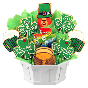 ST. PATRICK'S DAY COOKIE GIFTS