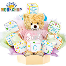 Build-A-Bear - Baby Blocks - Girl