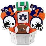 NCAA1-AUB - NCAA Cookie Bouquet - Auburn University
