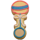 CFG4 - Baby Rattle Cookie Favors