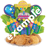 B211 - Wild Zoo Birthday BouTray™