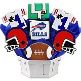NFL1-BUF - Football Bouquet - Buffalo