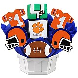 NCAA1-CLEM - NCAA Cookie Bouquet - Clemson University