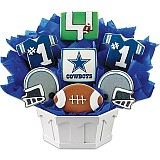 NFL1-DAL - Football Bouquet - Dallas