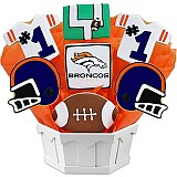 NFL1-DEN - Football Bouquet - Denver
