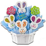 A308 - Easter Patchwork Bunnies