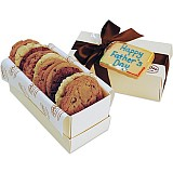 BXT8-FD - Father's Day One Dozen Gourmets w/ Message Tag