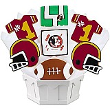 NCAA1-FLST - NCAA Cookie Bouquet - Florida State