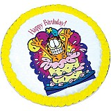 PCG2 - Happy Birthday Garfield Cookie Cake
