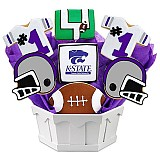 NCAA1-KANST - NCAA Cookie Bouquet - Kansas State
