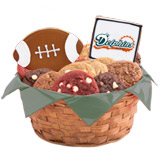 WNFL1-MIA - Football Basket - Miami