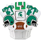 NCAA1-MIST - NCAA Cookie Bouquet - Michigan State University