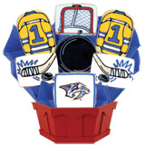 NHL1-NSH - Hockey Bouquet - Nashville