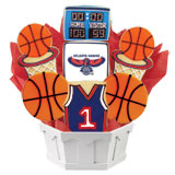 NBA1-ATL - Pro Basketball Bouquet - Atlanta