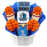 NBA1-DAL - Pro Basketball Bouquet - Dallas
