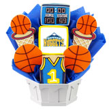 NBA1-DEN - Pro Basketball Bouquet - Denver