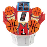 NBA1-POR - Pro Basketball Bouquet - Portland Trail