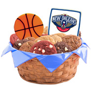 WNBA1-NOH - Pro Basketball Basket - New Orleans