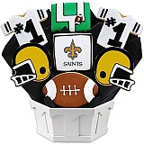 NFL1-NO - Football Bouquet - New Orleans