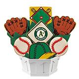 MLB1-OAK - MLB Bouquet - Oakland Athletics