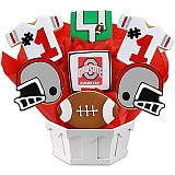 NCAA1-OHSU - NCAA Cookie Bouquet - Ohio State University