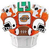 NCAA1-OKST - NCAA Cookie Bouquet - Oklahoma State