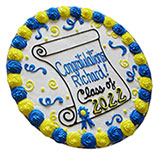 PC19 - Congrats Grad Cookie Cake