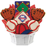 MLB1-PHI - MLB Bouquet - Philadelphia Phillies