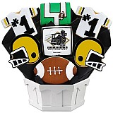 NCAA1-PER - NCAA Cookie Bouquet - Purdue University
