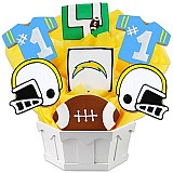 NFL1-SD - Football Bouquet - San Diego
