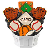 MLB1-SFO - MLB Bouquet - San Francisco Giants